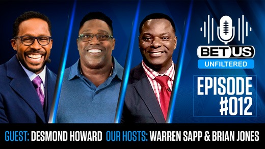 BetUS Unfiltered #012 | Super Bowl MVP & Heisman Trophy Winning Legend Desmond Howard Joins The Show