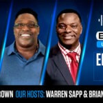 Warren Sapp Brian Jones Tim Brown for BetUS Unfiltered Podcast