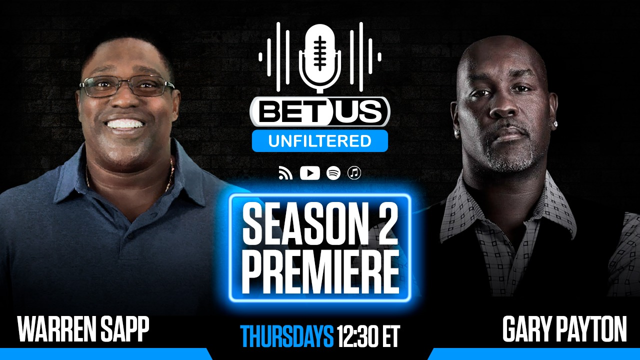 Warren Sapp Brian Jones Sterling Sharpe for BetUS Unfiltered Podcast